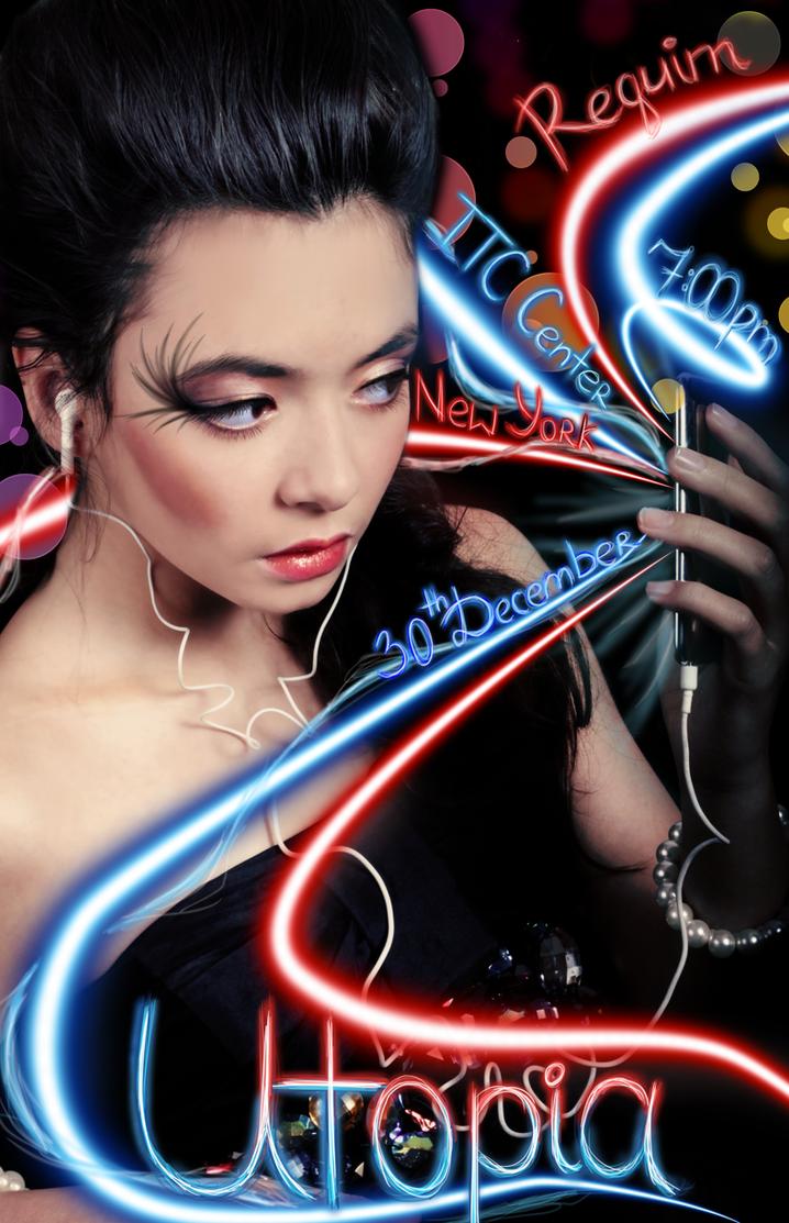 Utopia Poster by SilverInuYoukai