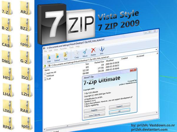 Vista Style 7-Zip by pri2sh