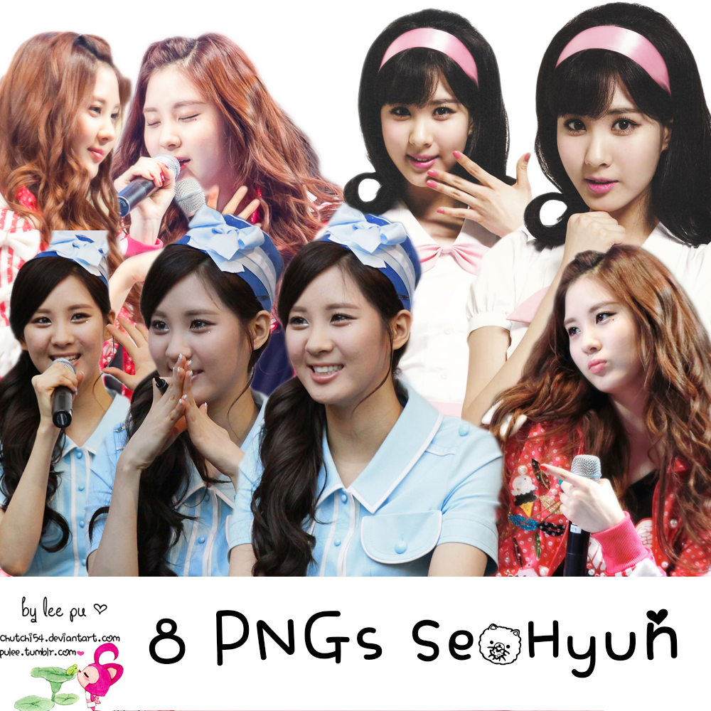 8 PNGs SeoHyun [Free] by chutchi54