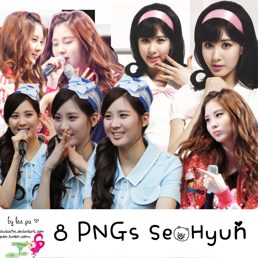 8 PNGs SeoHyun [Free] by chutchi54