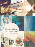 9 Colourful Large Textures by Emmaso