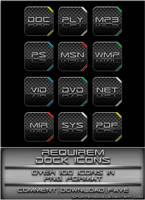Requirem - Dock Icons by splintered13