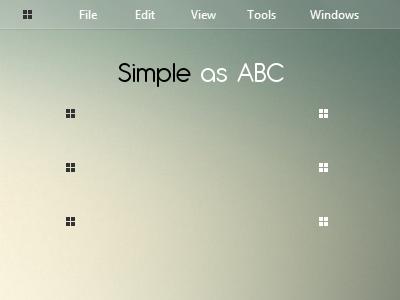 Simple as ABC