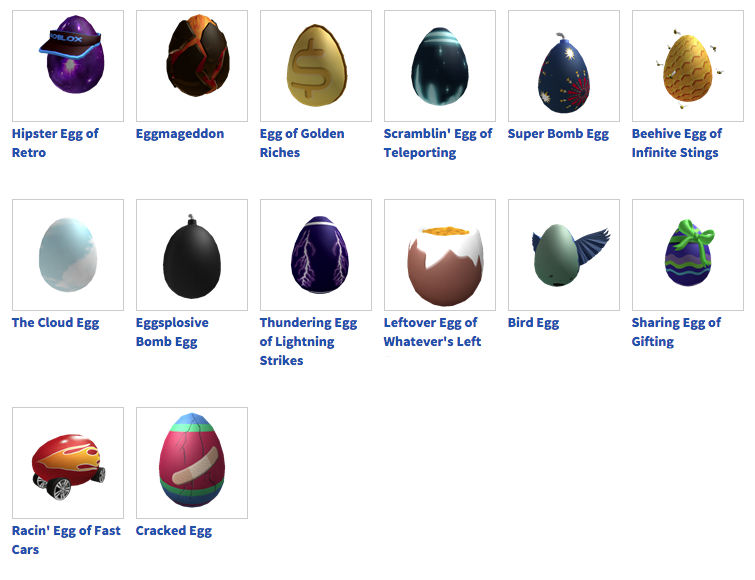 Eggs I Got In The Roblox 2015 Egg Hunt By Djloehr On Deviantart