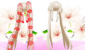 MMD Resource: Long Twin Tails