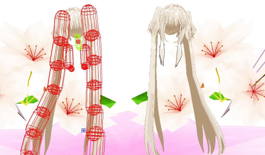 MMD Resource: Long Twin Tails by Shironotenshi