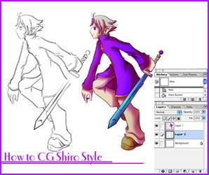 How to CG Shiro Style
