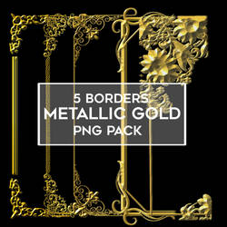 FREE 5 pack Gold Borders