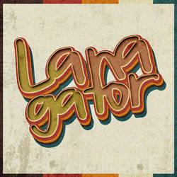 Free Custom Font- Lanagator