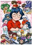Rumiko Takahashi's Family by closencounters-manga