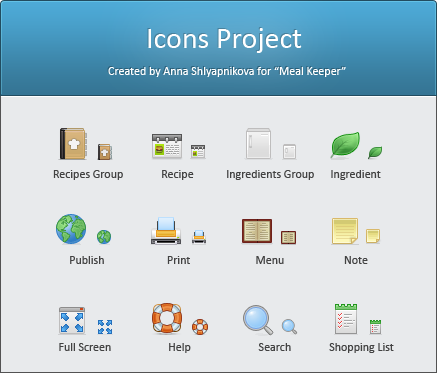 Icon for MealKeeper's soft by shlyapnikova