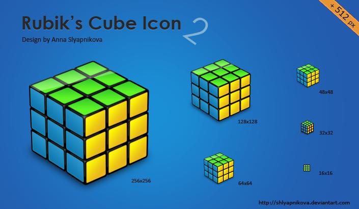 Solved Rubik's Cube by shlyapnikova