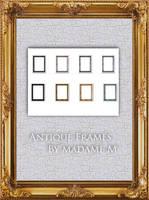 Antique Frames Pack II - Rec. by MadameM-stock