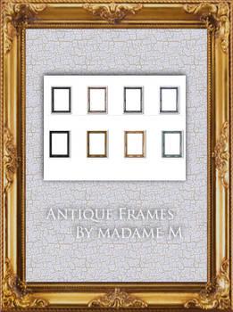 Antique Frames Pack II - Rec.