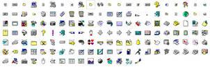 Windows 3.1 icons #2
