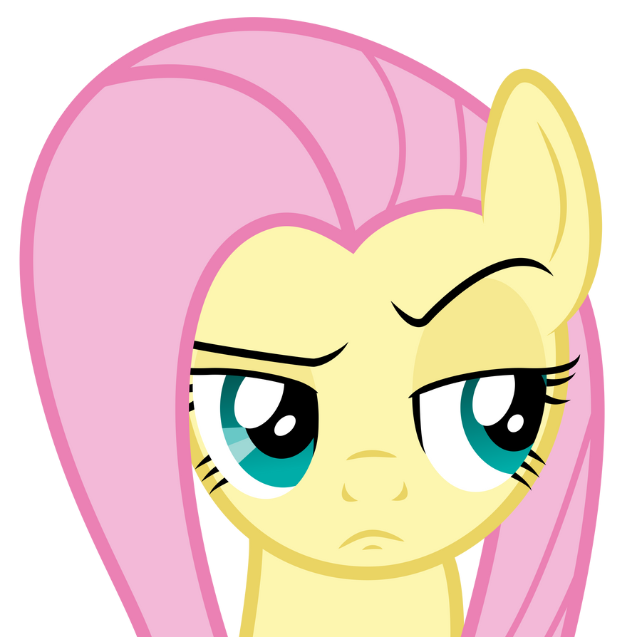 Fluttershy Face by liamwhite1 on DeviantArt