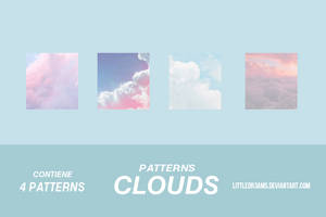 CLOUDS - PATTERNS by LittleDr3ams