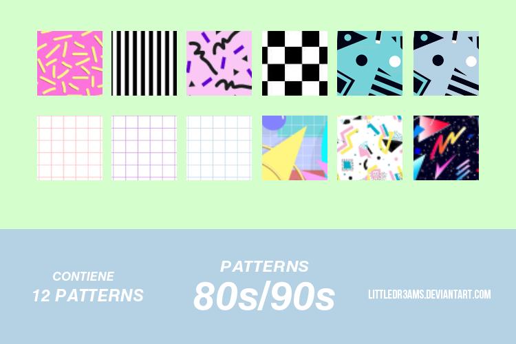 80s - 90s -PATTERNS