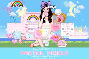 PASTEL PIXELS - RANDOM PNG's IV by LittleDr3ams