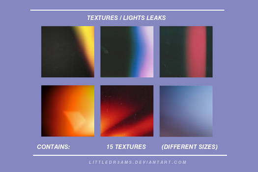 LIGHTS LEAKS VINTAGE - TEXTURE