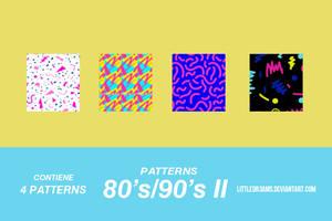 80s - 90s II - PATTERNS by LittleDr3ams