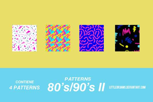 80s - 90s II - PATTERNS