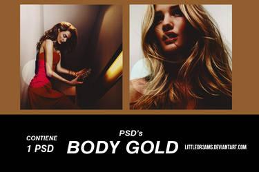 PSD 017 - BODY GOLD by LittleDr3ams