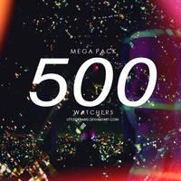 NEON MEGA PACK 500 WATCHERS by LittleDr3ams