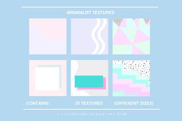 MINIMALIST TEXTURES by LittleDr3ams