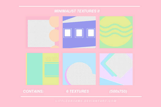 Minimalist Textures II - LITTLEDR3AMS