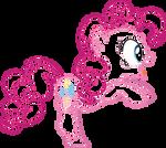 Pinkie pie lineart