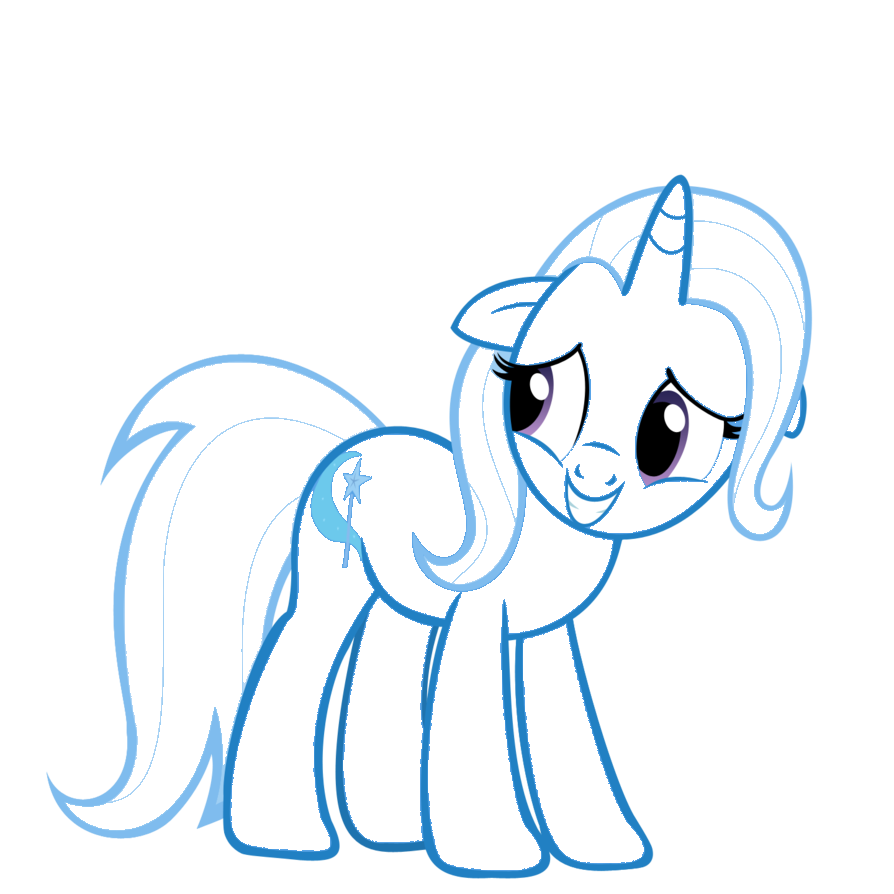 Trixie lineart