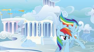 Cool Rainbow dash