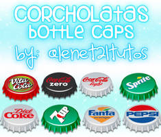 bottle caps corcholatas by alenet21tutos
