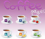 Coffe pages Icons