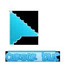 CURSOR Blue by alenet21tutos