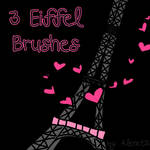 3 eiffel Brushes