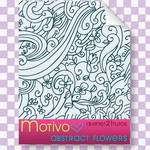 Abstract Flower Pattern Motivo