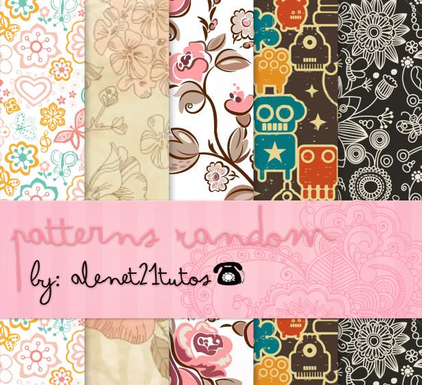 patterns Random Vintage