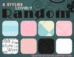 8 Styles Lovely Random By alenet21