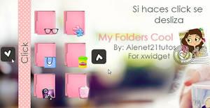 My Folders cool skins for xwidget by alenet21tutos
