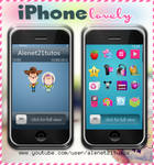 iPhone lovely for xwidget by alenet21tutos