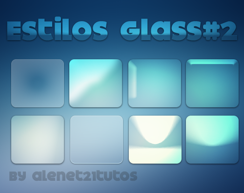 Estilos Glass#2 by alenet21tutos