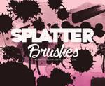 Splatter Brushes {Alenet21tutos}