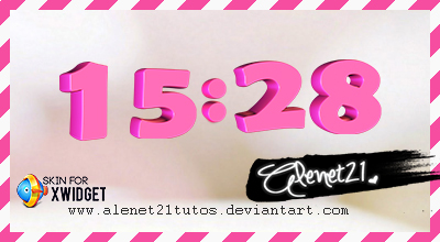 Pink 3D Skin by alenet21tutos