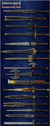 Dragon Age II: Greatswords Model Pack by Berserker79