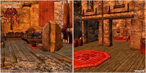 Dragon Age II: Varric's Room scenery model UPDATED