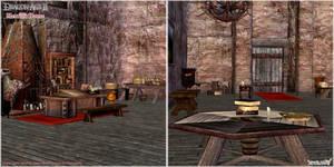 Dragon Age II: Merrill's Room scenery model