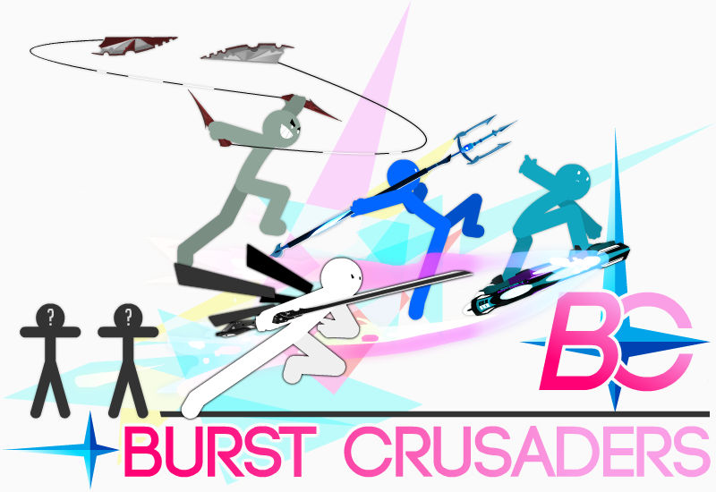Burst Crusaders - Banner