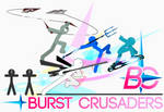 Burst Crusaders - Banner